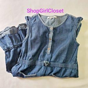 DKNY Denim Dress Girls sz 8
